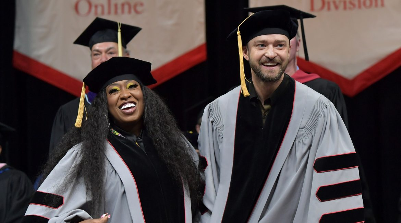 Justine Timberlake e Missy Elliott hanno ricevuto una laurea ad honorem: ora sono dottori della musica